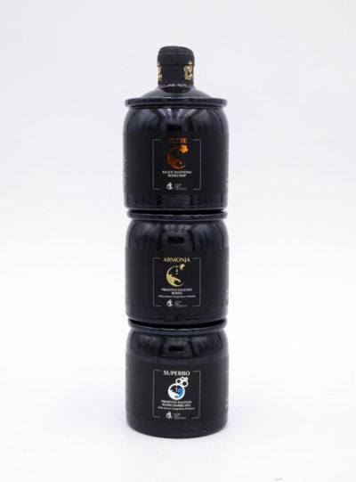 trywine bottiglie di vino rosso impilabili da 250 ml