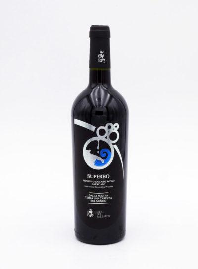 vino rosso primitivo superbo otri del salento