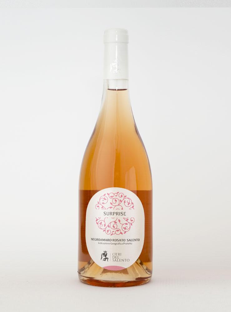 vino rosato surprise otri del salento