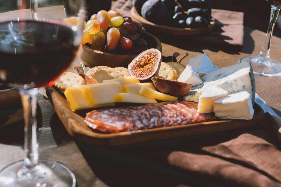 abbinare cibo e vino